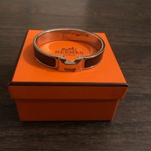 Women's authentic H Clic Clac Hermès bracelet